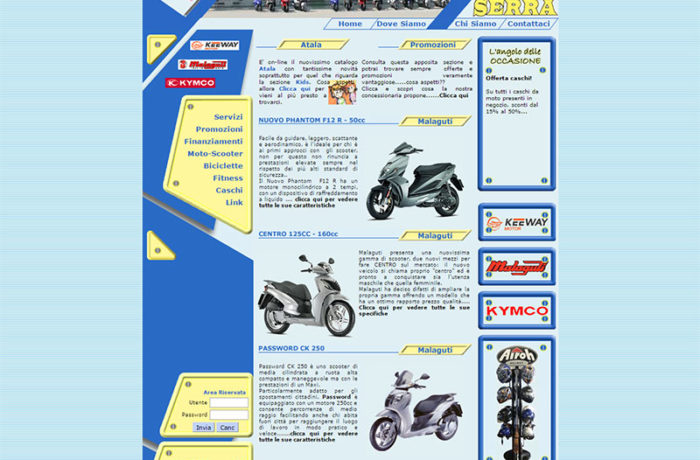 Serra Moto Scooter